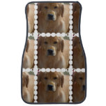 Golden Pup Car Mat