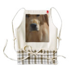 Gorgeous Golden Retriever Zazzle HEART Apron