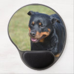 Guileless Rottweiler Gel Mouse Pad