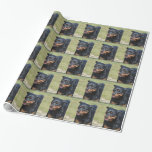 Guileless Rottweiler Wrapping Paper