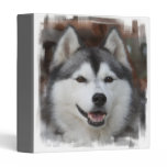 Husky Dog Binder