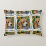 Lovable Beagle Accent Pillow