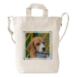 Lovable Beagle Duck Bag