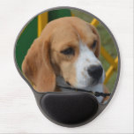 Lovable Beagle Gel Mouse Pad