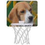 Lovable Beagle Mini Basketball Backboard