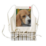 Lovable Beagle Zazzle HEART Apron