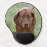 Lovable Vizsla Gel Mouse Pad
