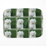 maltese-14 burp cloth