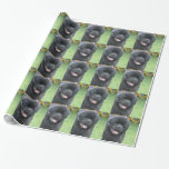 Newfoundland Dog Wrapping Paper
