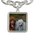 Pair of Poodles Bracelet