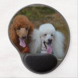 Pair of Poodles Gel Mouse Pad