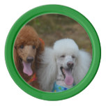 Pair of Poodles Poker Chips