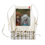 Pair of Poodles Zazzle HEART Apron