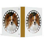 Papillon Dog Binder