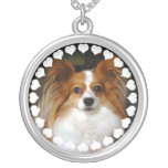 Papillon Dog Necklace