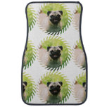 Pug Dog Car Floor Mat