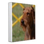 Really Cute Airedale Terrier Binder