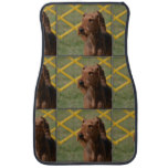 Really Cute Airedale Terrier Car Floor Mat