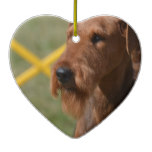 Really Cute Airedale Terrier Ceramic Ornament