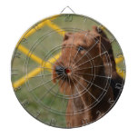 Really Cute Airedale Terrier Dartboard With Darts