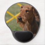 Really Cute Airedale Terrier Gel Mouse Pad