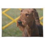 Really Cute Airedale Terrier Placemat
