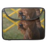 Really Cute Airedale Terrier Sleeve For MacBook Pro