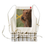 Really Cute Airedale Terrier Zazzle HEART Apron