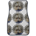 Resting Havanese Dog Car Mat