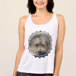 Resting Havanese Dog Tank Top