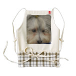 Resting Havanese Dog Zazzle HEART Apron