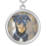 Rottweiler Dog Necklace