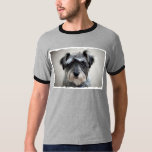 Schnauzer Dog Men's T-Shirt