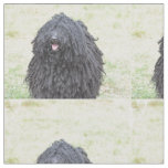 Shaggy Puli Dog Fabric