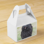 Shaggy Puli Dog Favor Box