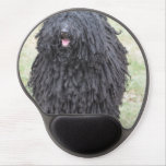 Shaggy Puli Dog Gel Mouse Pad