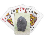 Shaggy Puli Dog Playing Cards
