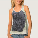 Shaggy Puli Dog Tank Top