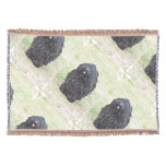 Shaggy Puli Dog Throw Blanket