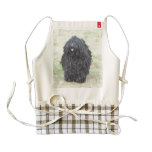 Shaggy Puli Dog Zazzle HEART Apron