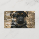 Shepherd Puppy Business Cards