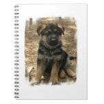 Shepherd Puppy  Notebook