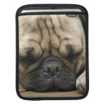 Sleeping Pug iPad Sleeve
