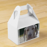 Sleepy Weimaraner Favor Box
