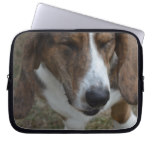 Sweet Basset Hound Laptop Sleeve