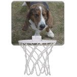 Sweet Basset Hound Mini Basketball Hoop