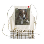 Sweet Basset Hound Zazzle HEART Apron