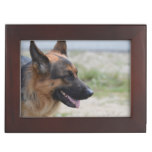 Sweet German Shepherd Dog Memory Box