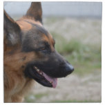Sweet German Shepherd Dog Napkin