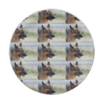 Sweet German Shepherd Dog Paper Plate